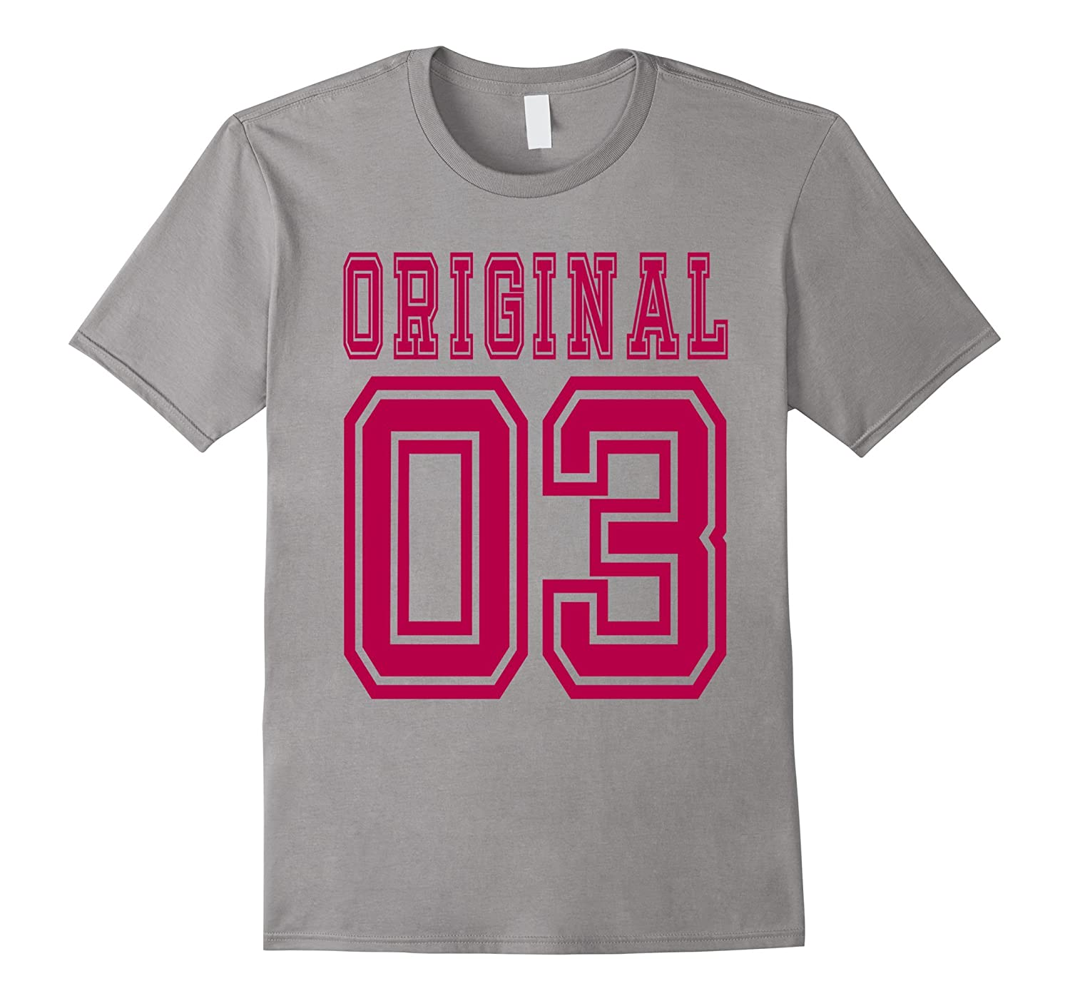 13th birthday Gift Idea 13 Year Old Girl Shirt 2003 Tee C-BN