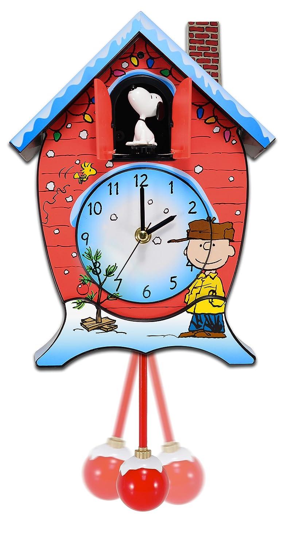 Mark Feldstein CKPNX Peanuts Christmas Cuckoo Clock Inc