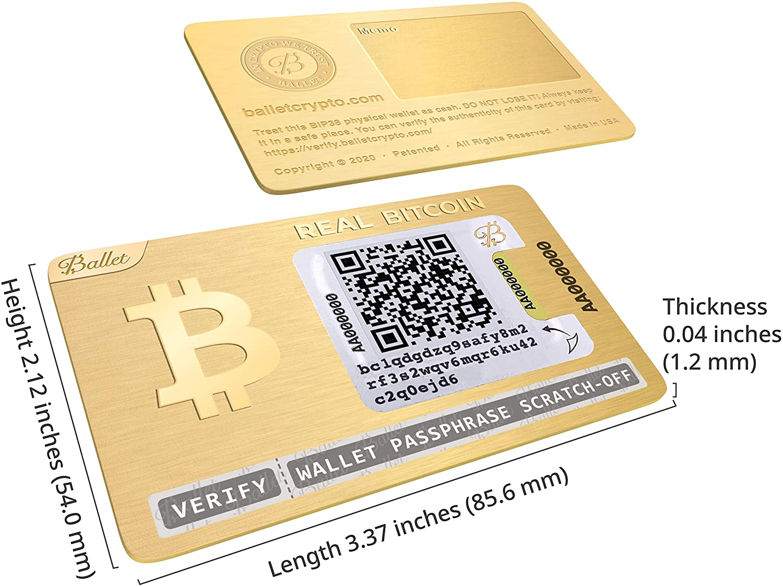 Ballet Real Bitcoin 24k Vergoldet Cryptocurrency Elektronik