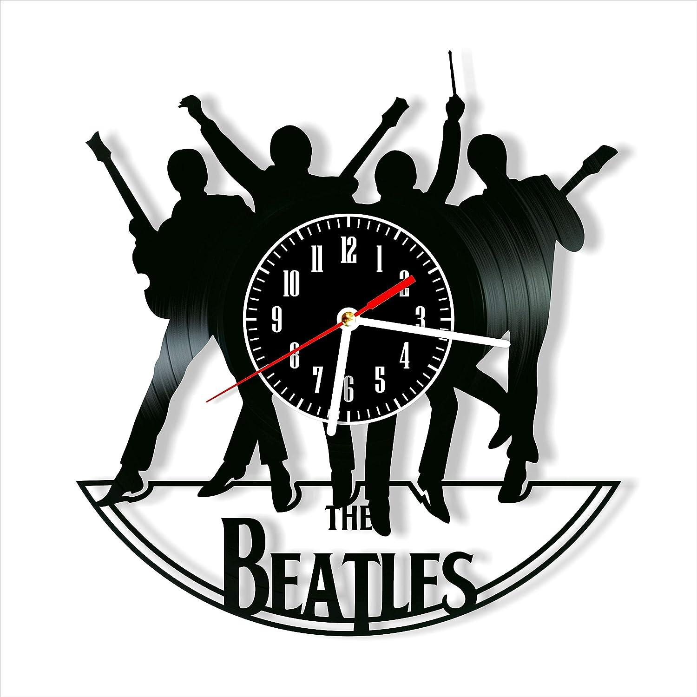 Beatles Vinyl Clock, Beatles Wall Clock 12