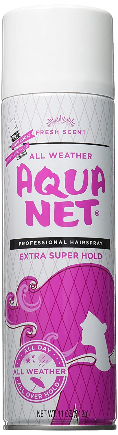Aqua Net Professional Hair Spray Extra Super Hold 3 Fresh Scent, 11 Oz LM60013