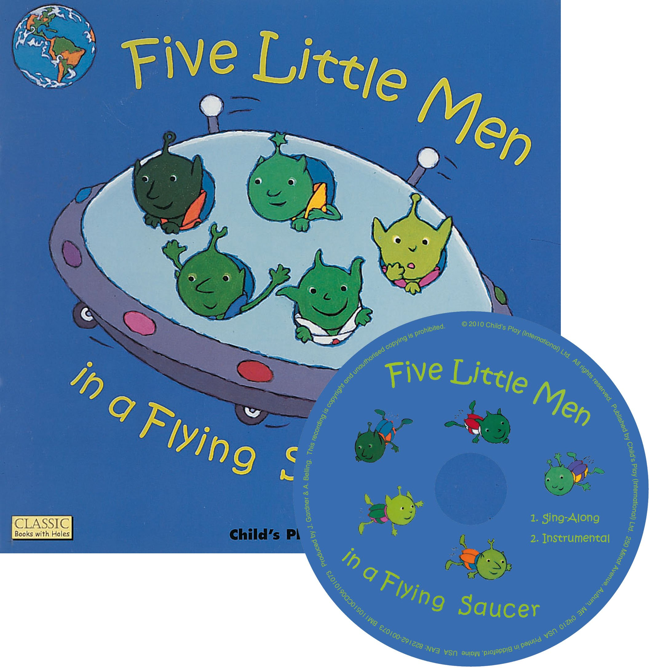 Download Five Little Men In A Flying Saucer (Classic Books with Holes) pdf