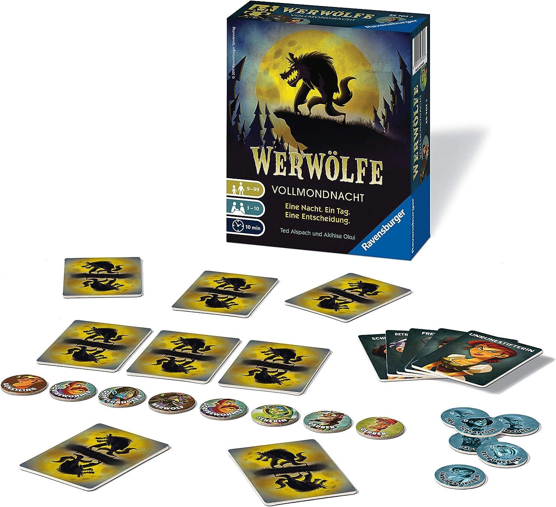 Ravensburger Werwölfe – Vollmondnacht - Juego de Tablero (Multi): Amazon.es: Juguetes y juegos