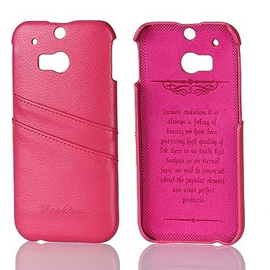Amazon.com: HTC One M8 Funda wiitop, rosado (HTC One M8 Case ...