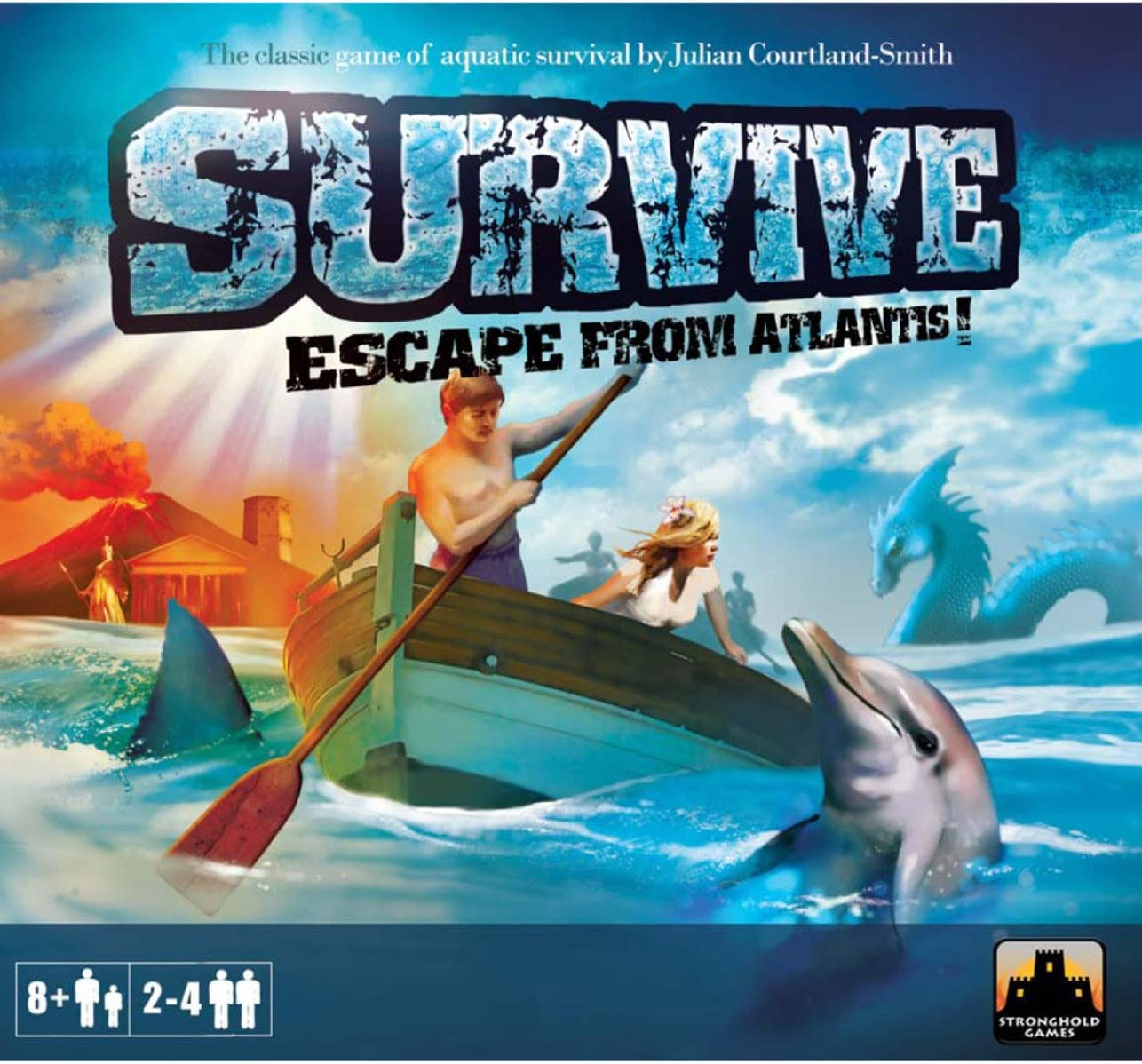Stronghold Games 2002 - Sobrevivir: Escape from Atlantis [Importado de Alemania]: Amazon.es: Juguetes y juegos