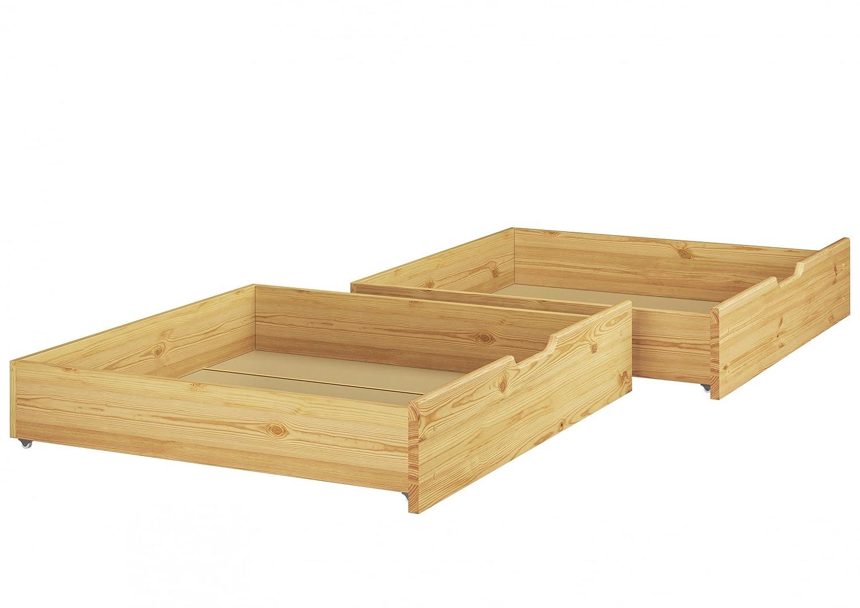 Letto per i nostri letti a castello–2pezzi–Pino naturale–90.10S2 Erst-Holz