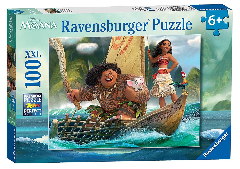 Disney Moana 100 Piece Puzzles Ages 6+