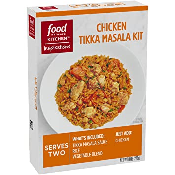 Amazon food network kitchen inspirations chicken tikka masala food network kitchen inspirations chicken tikka masala meal kit 8 oz forumfinder Gallery
