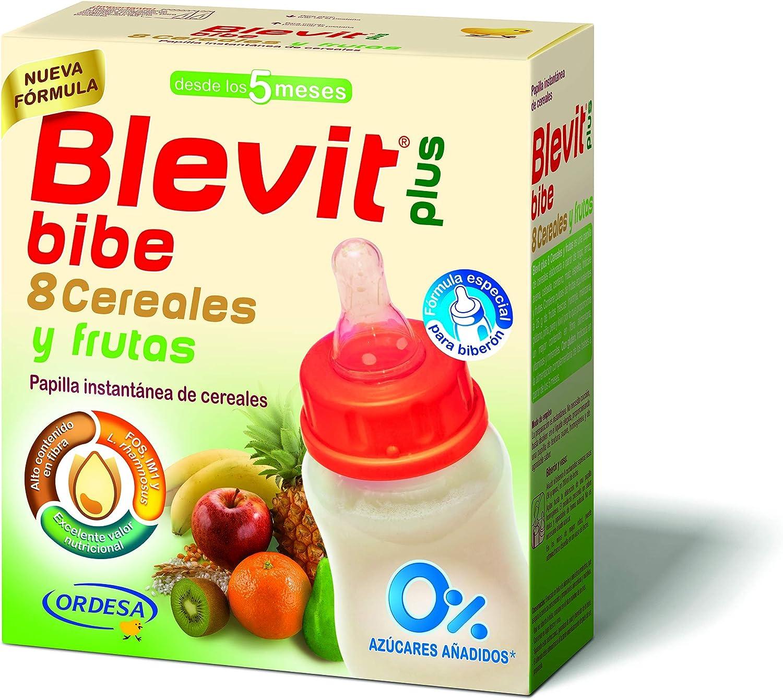 Blevit Plus Blevit Plus Papilla 8 Cereales Y Fruta Para Biberón 600 g