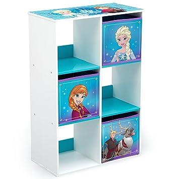 Genial Delta Children 6 Cubby Storage Unit, Disney Frozen