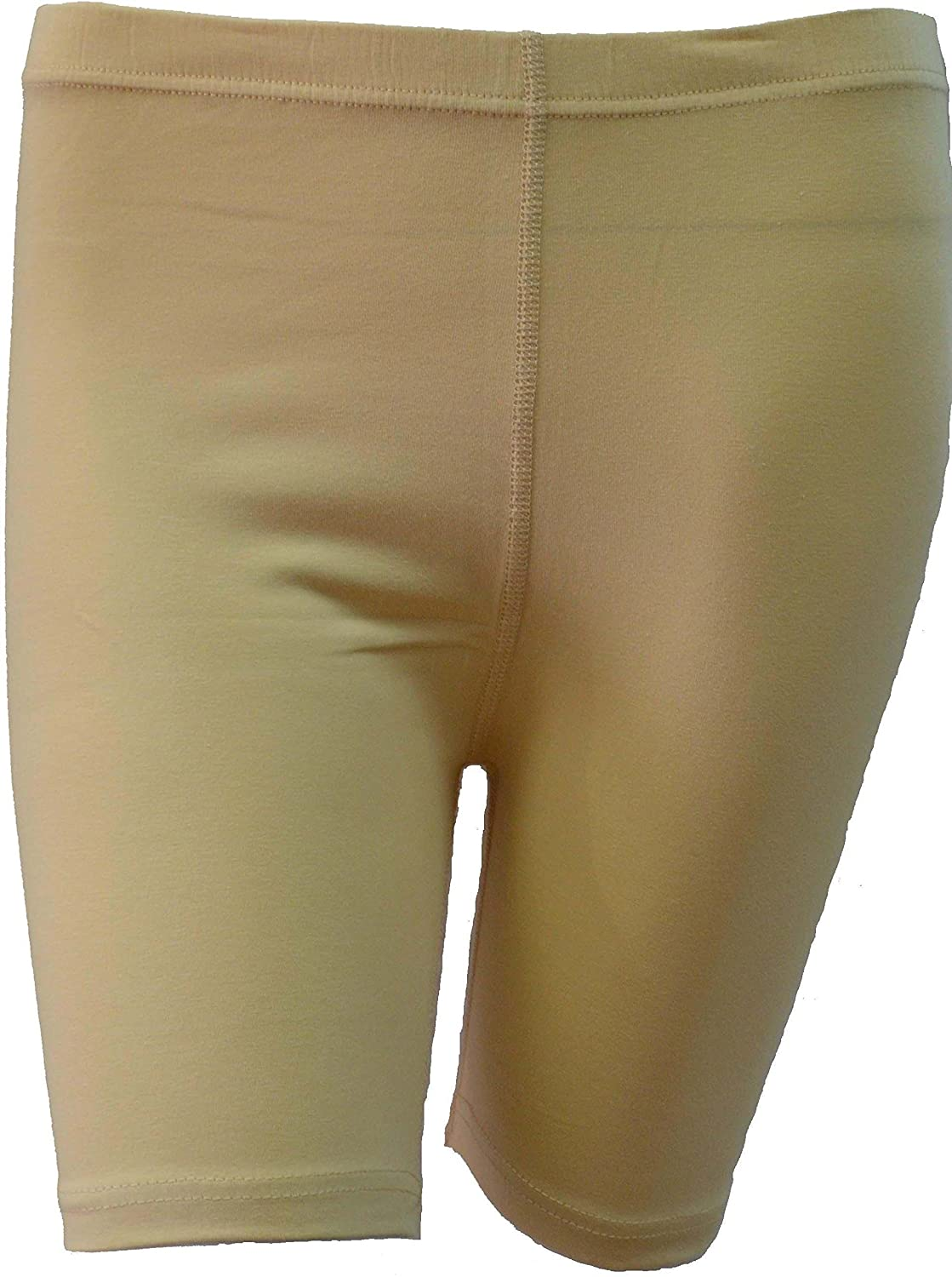 Women's Stretchy Cotton Lycra Above Knee Short Active Leggings