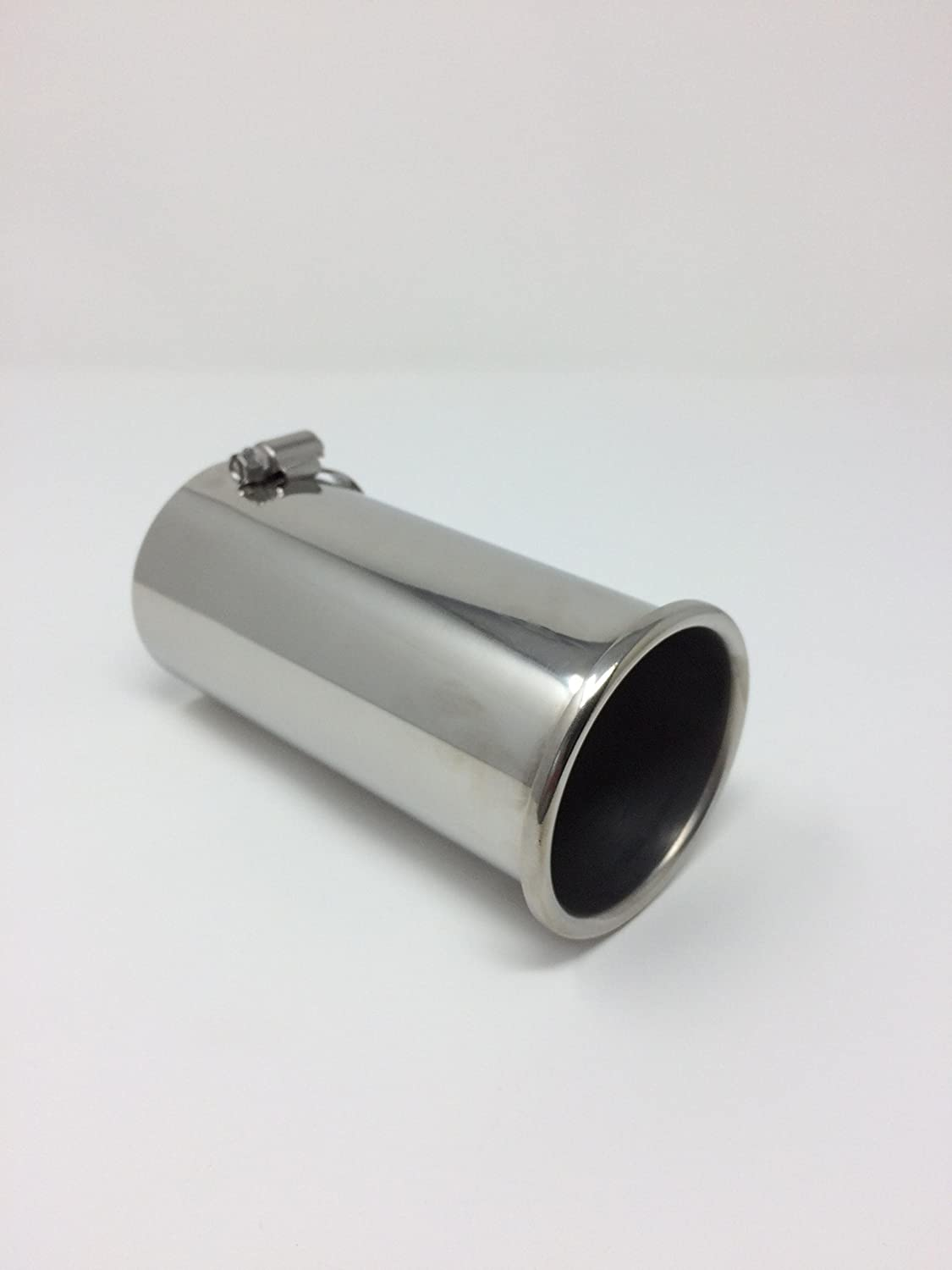 65 mm Top Quality Exhaust Tip Stainless Steel Rolled Tip Exhaust 45mm