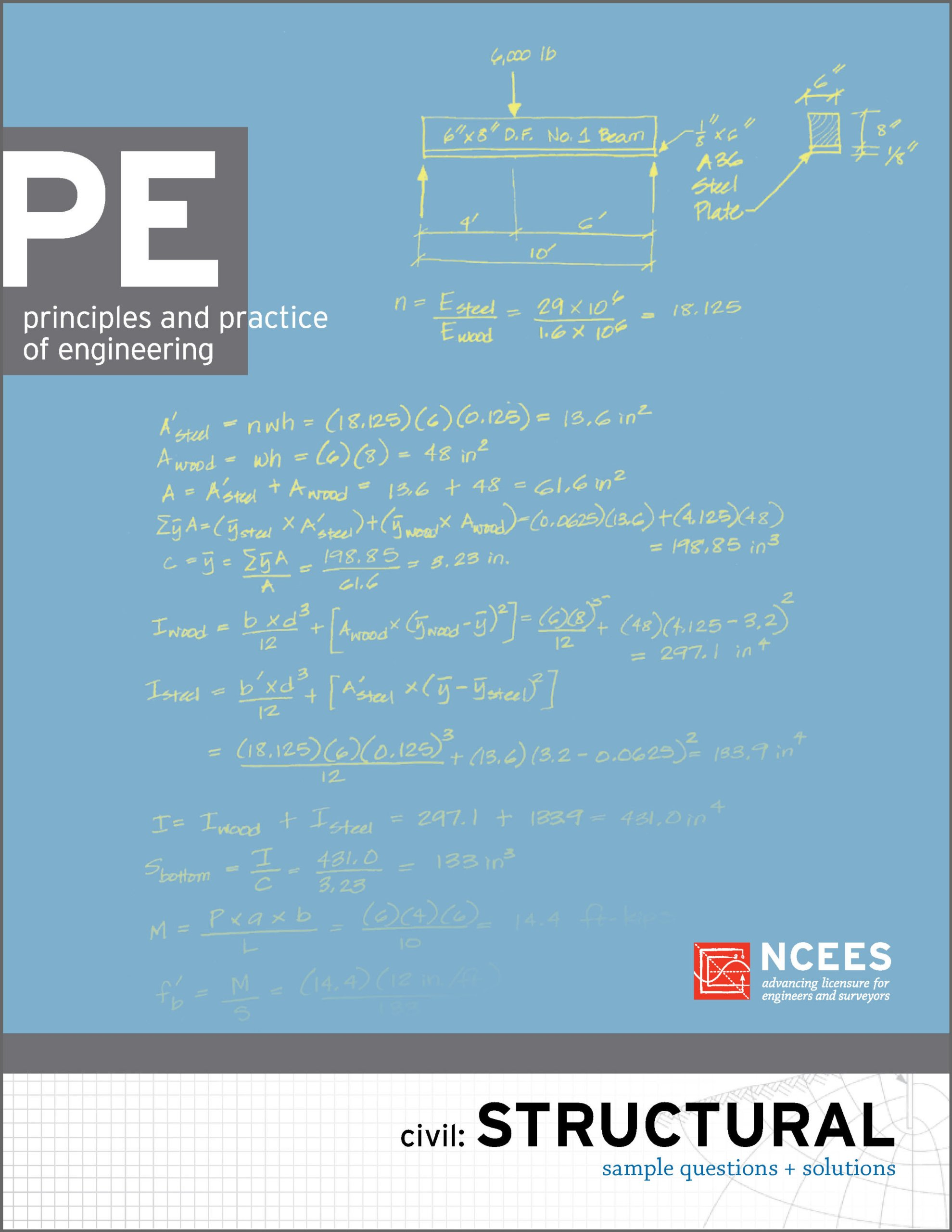 PE Civil: Structural Sample Questions and Solutions: NCEES: 9781932613636:  Amazon.com: Books