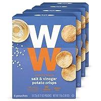 Deals on 20-Pack WW Salt and Vinegar Potato Crisps 2 SmartPoints