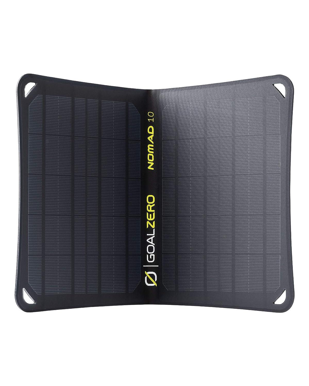 Goal Zero Nomad 10, Foldable Monocrystalline 10 Watt Solar Panel