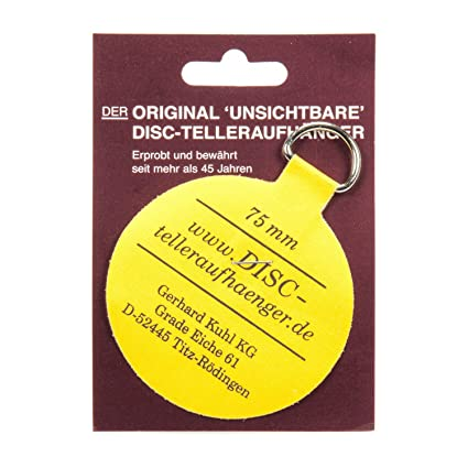 Flatirons Disc Adhesive Plate Hangers 3-Inch  sc 1 st  Amazon.com & Amazon.com: Flatirons Disc Adhesive Plate Hangers 3-Inch: Home ...