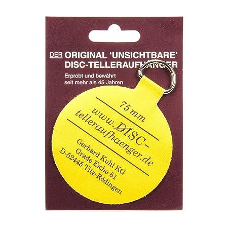 3u0026quot; Disc Adhesive Plate Hanger  sc 1 st  Amazon UK & 3