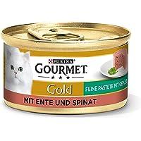 Purina Gourmet Våtfoder för Katter, Anka och Spinat, 85 g, 12 st