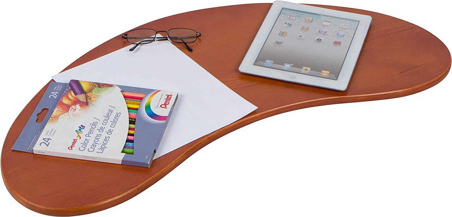 "Trademark Innovations 31.5"" Portable Curved Shape Lap Desk"