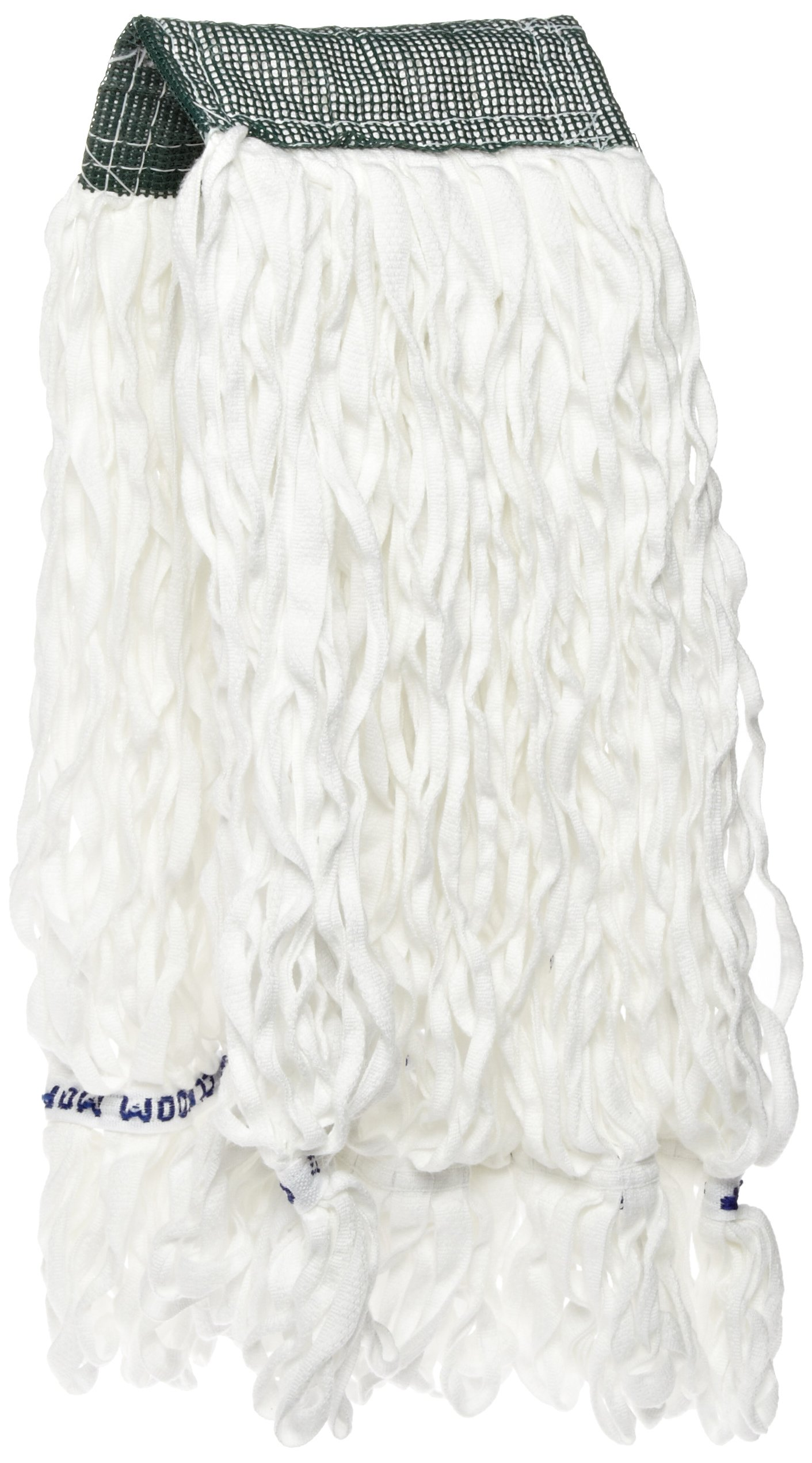Rubbermaid Commercial 20 Oz Clean Room String Wet Mop Head, 5 Inch Headband, White (FGT30000WH00)
