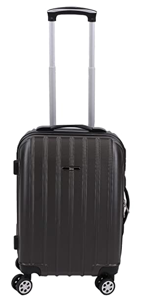 BETZ Maleta de Viaje rígido con Cierre de Seguridad TSA Trolley Color Antracita: Amazon.es: Deportes y aire libre