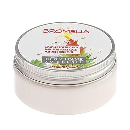 LOccitane Bromelia - Máscara de resistencia al cabello (200 ...