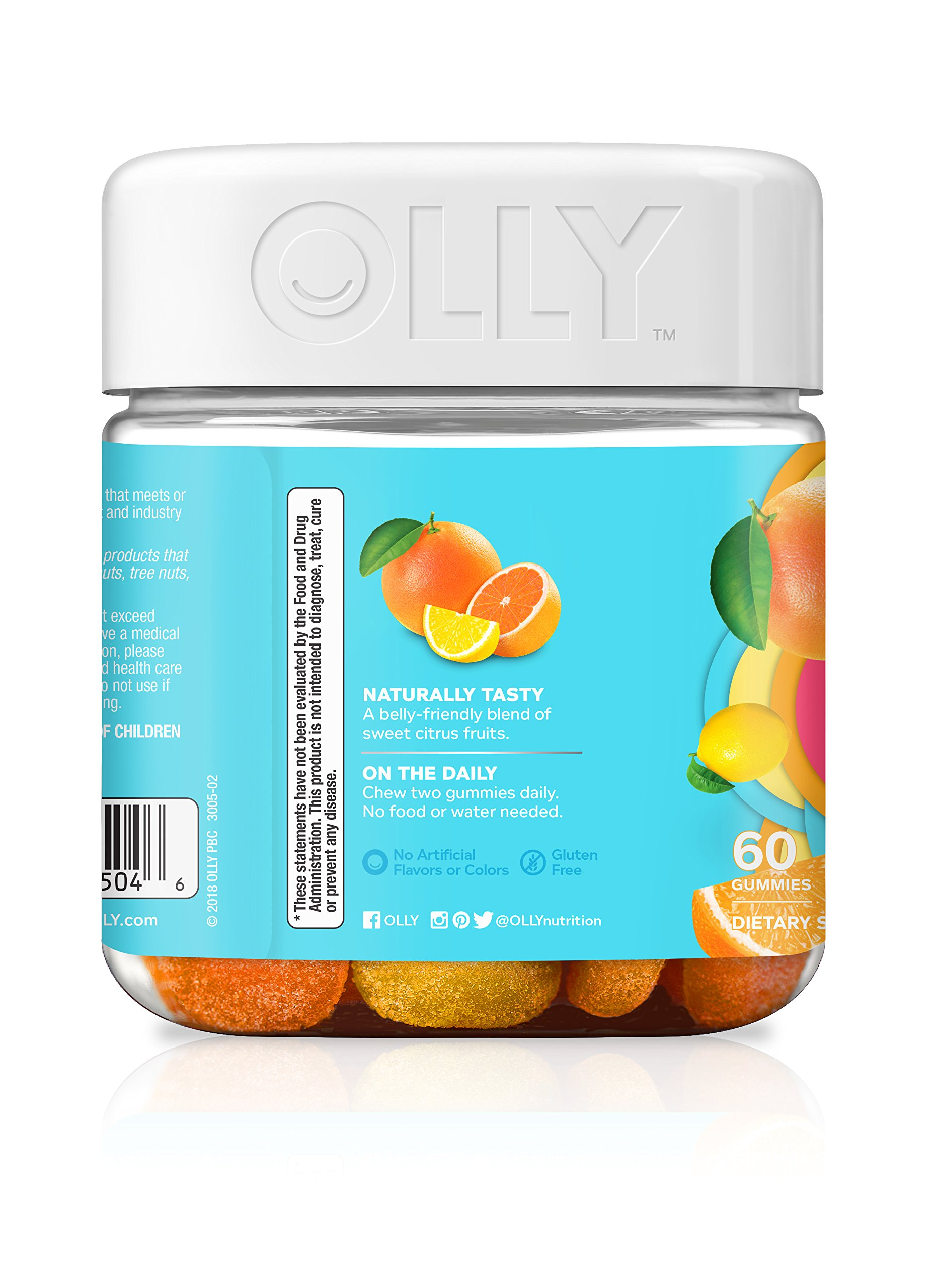 OLLY Women's Multivitamin Gummy Supplement