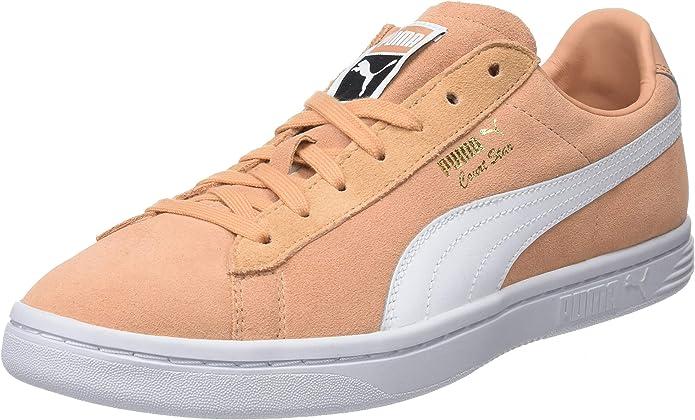 Puma Court Star FS Sneaker Damen Herren Unisex Orange (Dusty Coral)