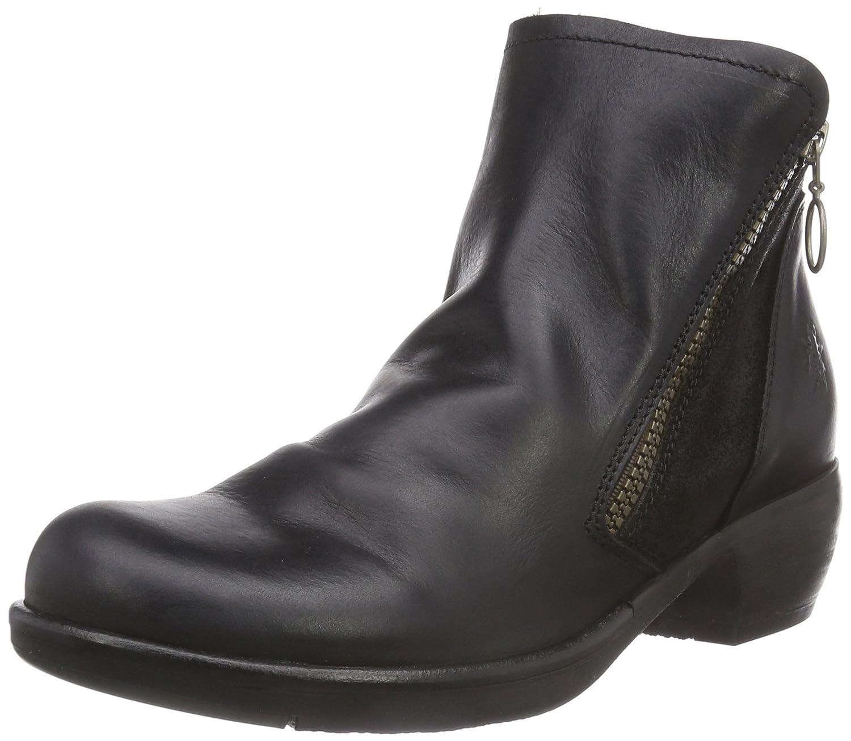 FLY London Women's Meli Boot B00UK9NI6O 36 EU/5.5-6 M US|Black