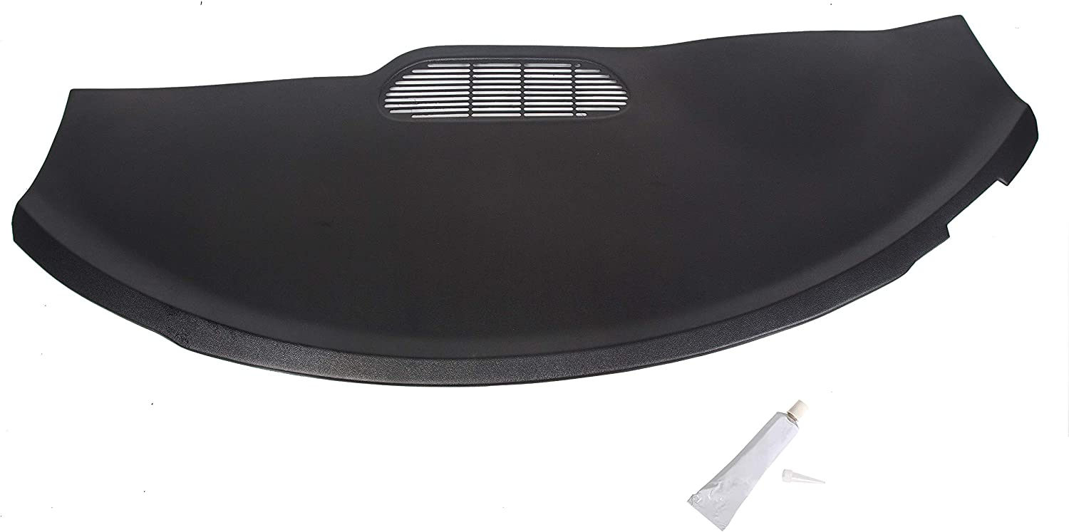 ECOTRIC Molded Dash Cover Board Bezel Cap Overlay for 1997-2002 Chevy Camaro/Pontiac Firebird - Black