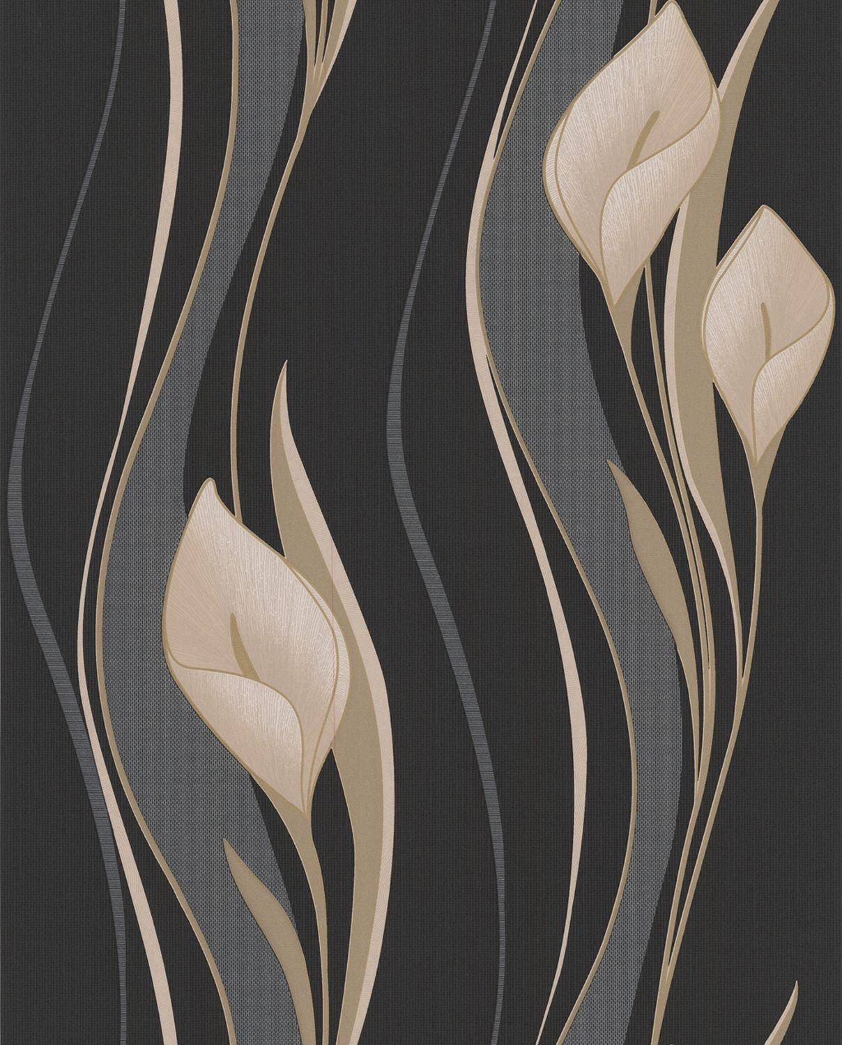 Graham Brown Peace Majestic Collection NonWoven - Brown and cream wallpaper