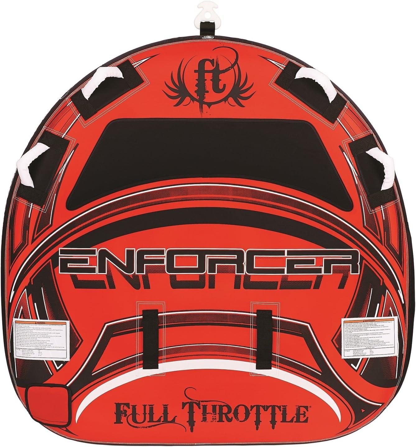 Full Throttle Enforcer 60in D-Shaped Tube-赤 [並行輸入品]