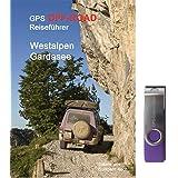 GPS-Offroad-Reiseführer Westalpen / Gardasee 30 Routen incl. USB-Stick mit Tracks fürs Navi