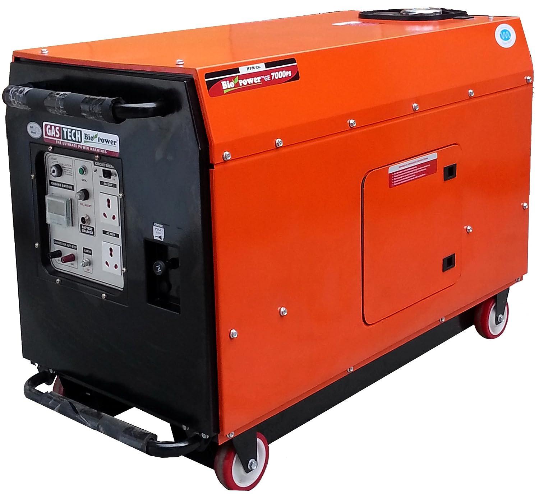 Gastech GE 7000PS 5500 VA Silent Portable Generator Petrol