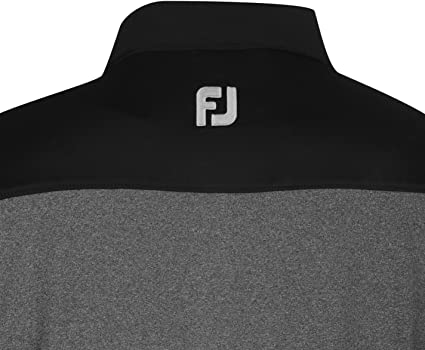 Footjoy Hombre Heather Polo Camisa Mangas Cortas Casual Ropa ...