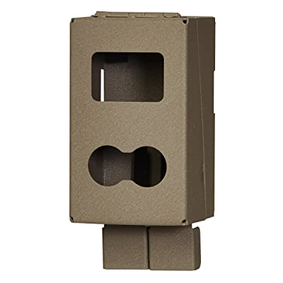 trail camera with lock box