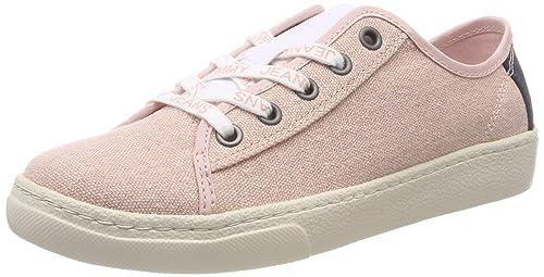 Tommy Jeans Light Textile Low, Zapatillas para Mujer: Amazon.es: Zapatos y complementos