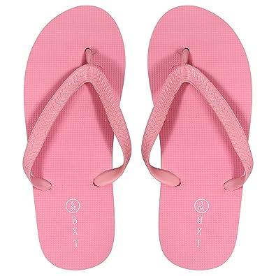 5c6c8a3e73a9 ShopOnline® Ladies Girls Boys Unisex Summer Beach Pool FLIP Flop Sandal  Shoes  Amazon.co.uk  Shoes   Bags