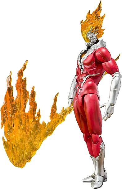 USED ULTRA-ACT Ultraman Zero GLEN FIRE FIgure BANDAI TAMASHII NATIONS Japan
