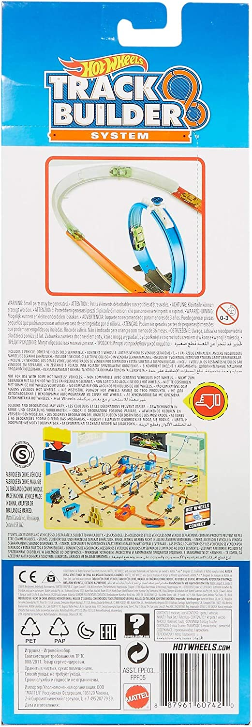Hot Wheels FPF05 Track Builder Curve Accessory