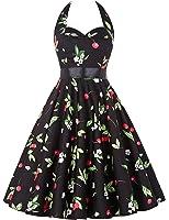 Halter Vintage Swing Dresses for Women CL4599/ CL6075