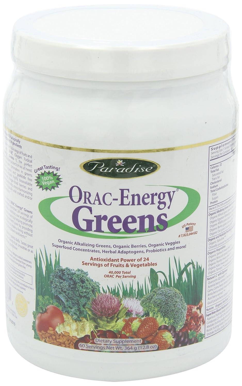 Cheapest amazon herbs - Amazon Com Paradise Herbs Orac Energy Powder Greens 364 Gram Health Personal Care