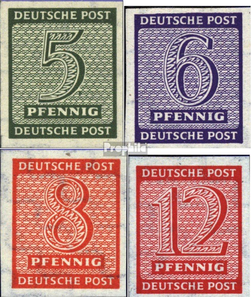 Prophila Collection Sowjetische Zone (All.Bes.) 116Y-119Y (kompl.Ausg.) geprüft steigendes Wasserzeichen 1945 Ziffer (Briefmarken für Sammler)