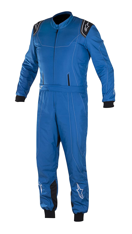 Alpinestars 3356017-1754-46 K-MX 9 Suit CIK FIA Level 2 Anthracite//Blue//Red Fluorescent Size 46 3-Layer