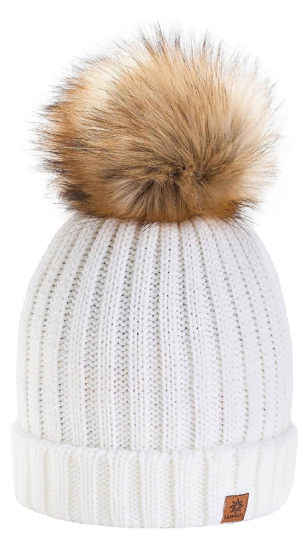 4sold Funy Beanie Baby Kids Girls Boys Hat London Wool Knitted with Pom Pom Winter Warm SKI Snowboard Hats kids Rita