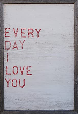 sugarboo designs art print ap102 everyday i love you 18inch by 26 - Sugarboo