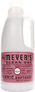 Mrs. Meyer's Clean Day Liquid Fabric Softener, Made Without Parabens, Cruelty Free Formula, Rosemary Scent, 32 oz