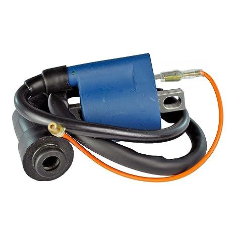 External Ignition Coil w/Cap For Yamaha ATV 80-660 cc/Dirt Bike 50-490  cc/Scooter 50 cc/Snowmobile 80-300 cc / YRX660 Rhino // Honda ATV // Arctic  Cat