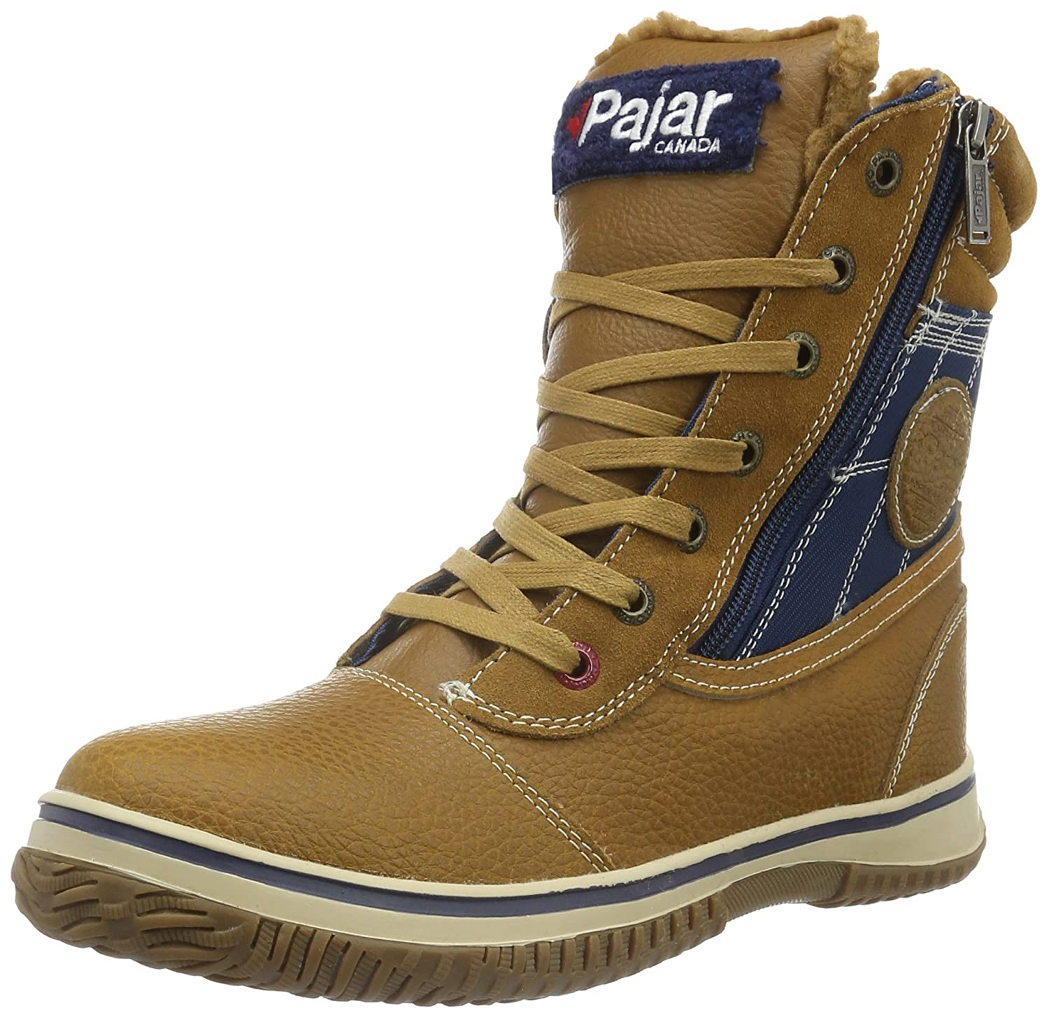 Cognac  Navy Pajar Mens Trooper Snow Boots