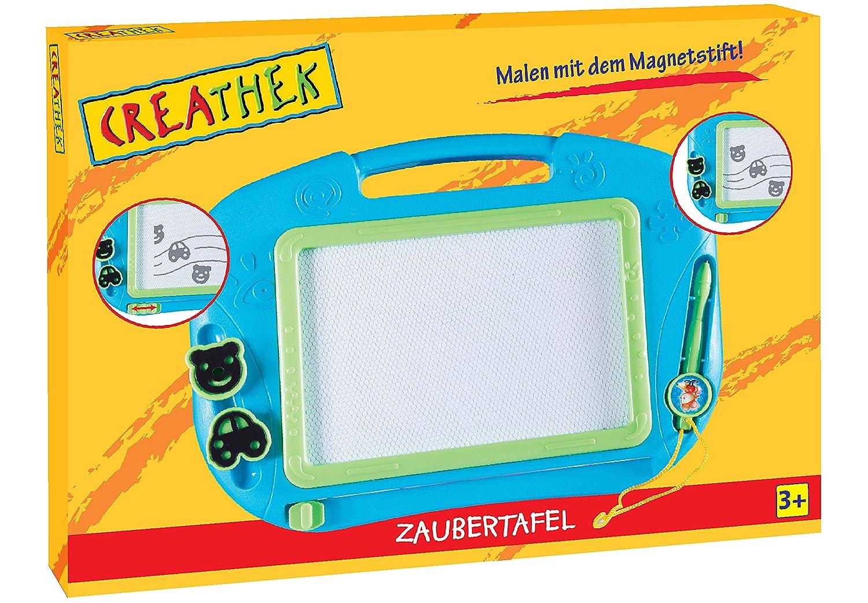 2pcs Zaubermaltafel Magnetische Maltafe mit Magnetische Stempel für Kind